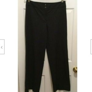 Armani Collezioni Pants 6 Gray-Black Wide Leg